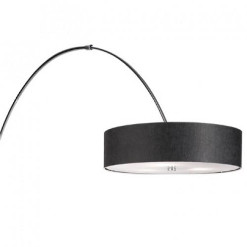 Arc Floor Lamp Dimmer Adjustable Polished Chrome Black Or