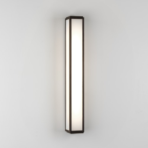 Bronze plated finish polycarbonate diffuser uses a 108w led strip 97906 aloadofball Image collections