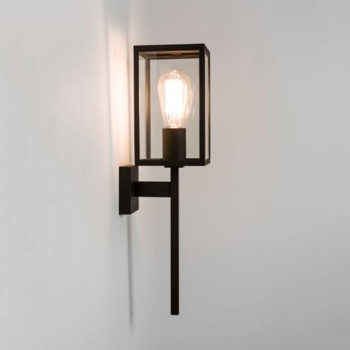 Exterior Wall-light Height 35cm Width 13cm Projection 10cm